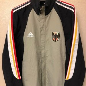 adidas track jacket large germany 2005 size L